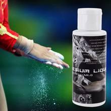 1 garrafa 100ml líquido giz esportes magnésio pó levantamento de peso da aptidão anti deslizamento creme
