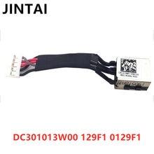 Para dell latitude 5400 5401 5402 portátil dc power jack cabo dc301013w00 0129f1