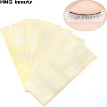 100pairs Wholesale Paper Patches Eyelash Under Eye Pads Lash Eyelash Extension Paper Patches Eye Tips Sticker Wraps