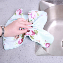 3pcs New Creative Microfiber Sanding Printing Rag Absorbent Decontamination Interior Cleaning Cloth Dish Towel CleaningTowel