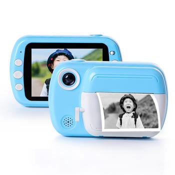 Aparat natychmiastowy dla dzieci dla dzieci aparat fotograficzny 24MP HD 1080P aparat cyfrowy dla dziecka aparat fotograficzny zabawka świąteczny prezent dla dziewczynki Boy tanie i dobre opinie Z tworzywa sztucznego CN (pochodzenie) 7-12m 13-24m 25-36m 4-6y 7-12y 12 + y Built-in rechargeable battery 1200 mAh Unisex
