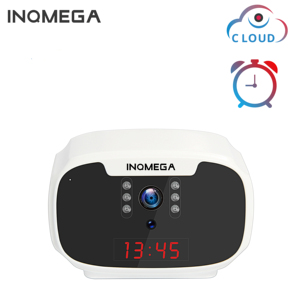 INQMEGA Clock Camera Mini 1080P WiFi Camera Wireless Home Security Camera IP CCTV Surveillance IR Night Vision Motion Detect
