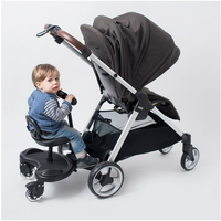 Cozy Twins stroller Standing Plate Rider Buggy Sibling Board Baby stroller Trailer Sibling Pedal Buggy Board