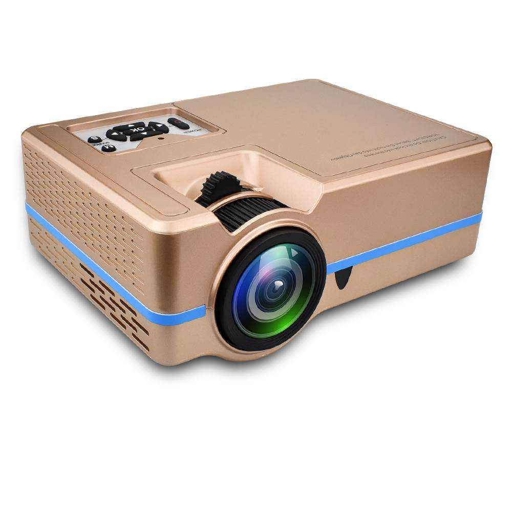 Mini Projector VS 313 Home Theater Projectors Portable Zoom Led Full HD Projector 2000 Lumes Colorful Support 4K HDMI/USB/VGA