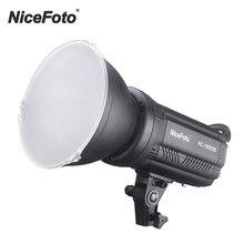 Nicefoto HC-1000SB fotografia led luz de vídeo tela lcd cri95 + 3200k/5600k pode ser escurecido com filtros cor controle sem fio