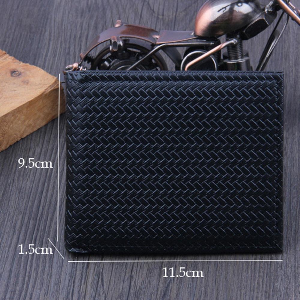 Men Bifold Business Leather Wallet ID Credit Card Holder Purse Pockets #4G24 (7)