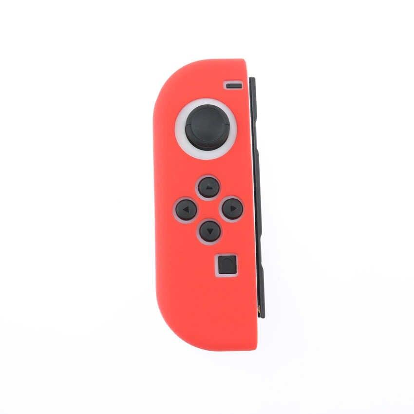 YuXi סיליקון גומי עור מקרה כיסוי עבור Nintend מתג שמחה קון בקר עבור Nintendo מתג NX NS Joycon גריפ
