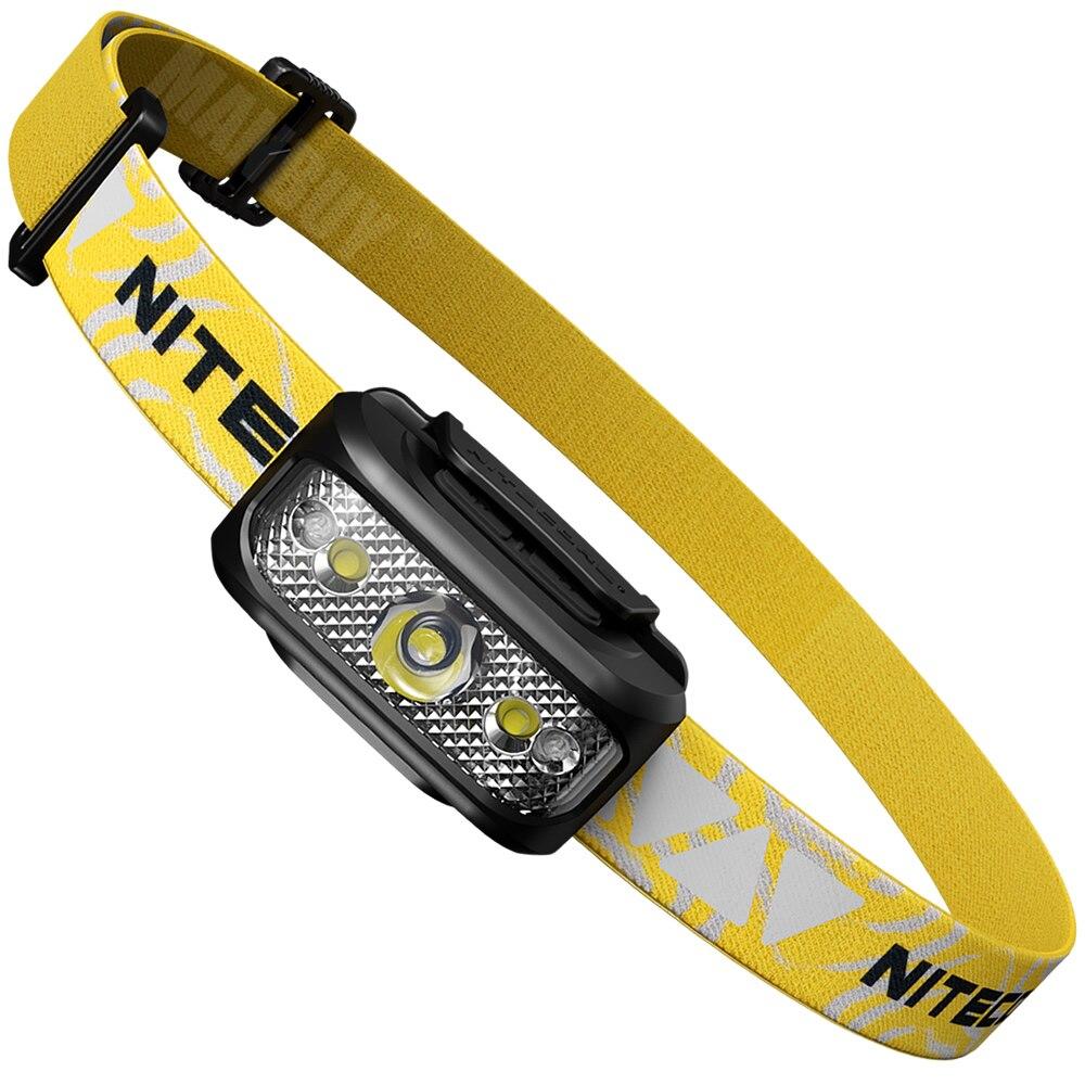 Nitecore NU17 Rechargeable Headlamp CREE XP-G2 S3 led Light Weight Headlight