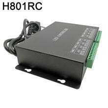 H801RC 8 portów Slave kontroler pikseli led działa z siecią komputerową lub kontrolerem Marster (H803TV lub H803TC) napęd 8192 pikseli