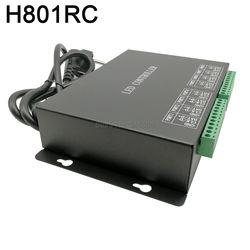 H801RC 8 portów Slave kontroler pikseli led działa z siecią komputerową lub kontrolerem Marster (H803TV lub H803TC) napęd 8192 pikseli w Kontrolery RGB od Lampy i oświetlenie na