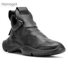 Sneakers Hombres Negro Sapato Masculino Moda Tenis Hombre Zapatos de cuero Hombres