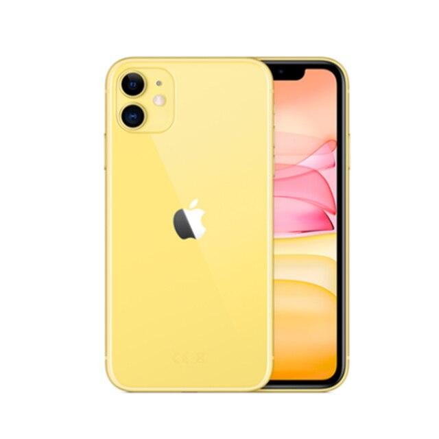 Used Unlocked Original iPhone 11 6.1 inch Full OLED Display  1 Sim Card 4G LTE Dual-camera Smart Phone 64/128/256GB ROM A13 2