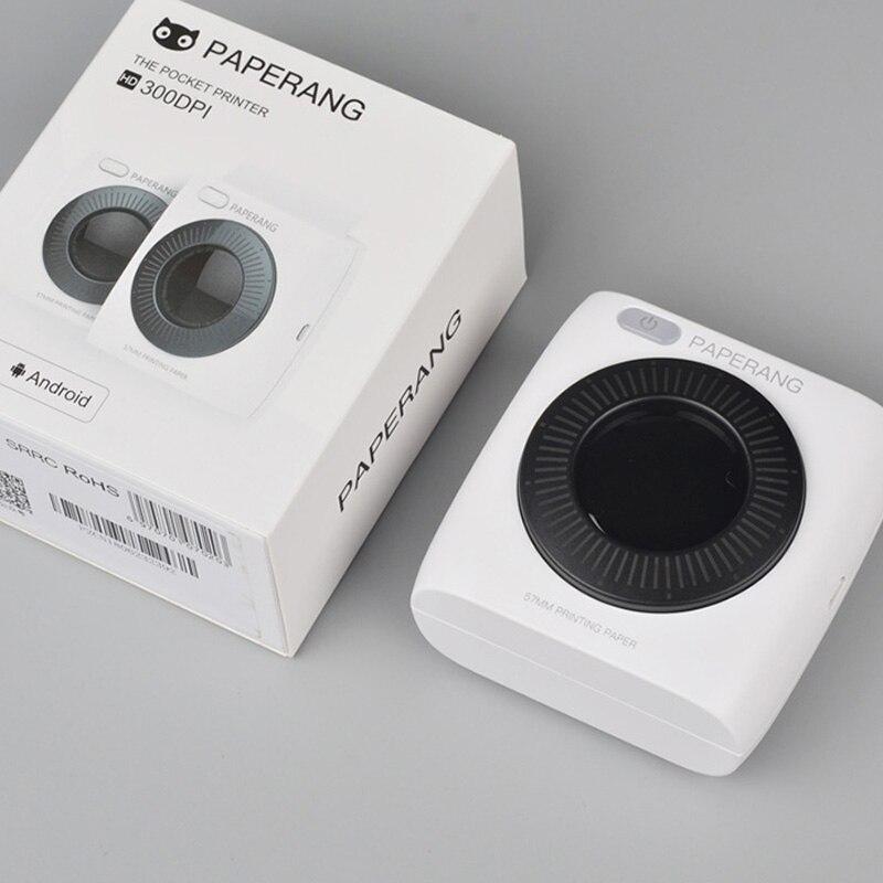 PAPERANG P2 Tasche Mini 58mm Tragbare Bluetooth Drucker Foto Drucker Drahtlose Verbindung HD Thermische Label Maschine 304DPI