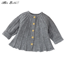 Winter Autumn 2021 Baby Sweater Coast Long Sleeve Fashion Warm Infantil Boy Girl Clothes Party Birthday 0-24 Months Clothing