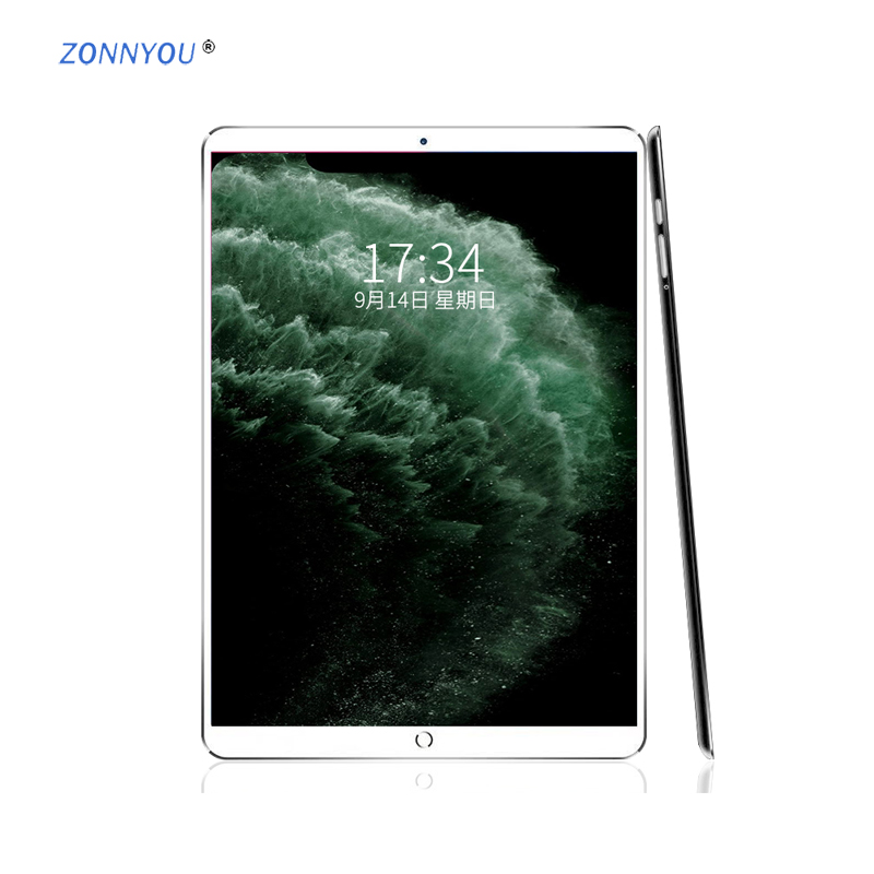 10.1 Inch Tablet New System 6GB+128GB 3G/4G Phone Call Octa Core Dual SIM Support Wi-Fi Bluetooth Android 8.0 Tablet PC +Keyboar