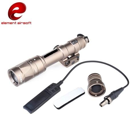 elemento airsoft arma m600w km2 a escoteiro luz led luzes lampada lanterna tatica caca ex377