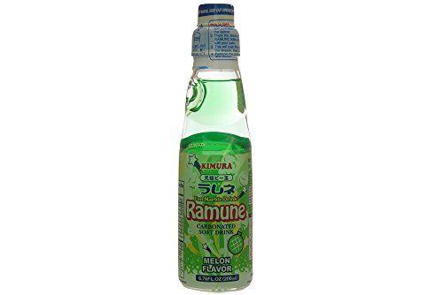 Ramune (giapponese Lemonade) Flavour Melone Da Kimura 200ml