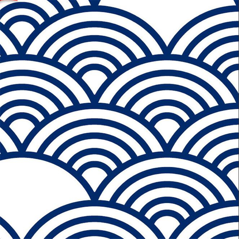 Wellyu style japonais style japonais style japonais nouilles japonaises sushi boutique surf de bon augure nuage ukiyo-e papier peint