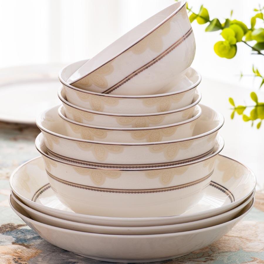 60 Heads Jingdezhen Ceramics Dishes