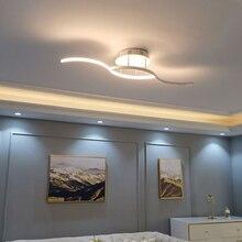 2019 new Modern led ceiling lights for living room bedroom study Room Foyer home Round Ceiling Lamp Matte Black/White Finished