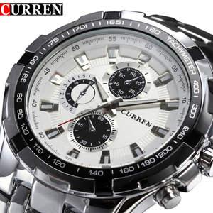 Watches Men Business Military SALE Waterproof Top-Brand Quartz Sports Luxury Casual Full-Steel