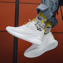 2019 Mens Sports Shoes Men Sneaker Elastic Knitting Breathable Vamp Running Casual Zapatos De Hombre 39 S SHOES