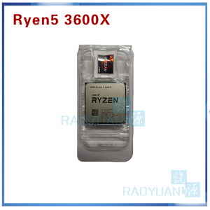 Image 3 - AMD Ryzen 5 3600X R5 3600X 3.8 GHz Six Core Twelve Thread 7NM 95W L3=32M 100 000000022 CPU Processor  Socket AM4 with cooler fan