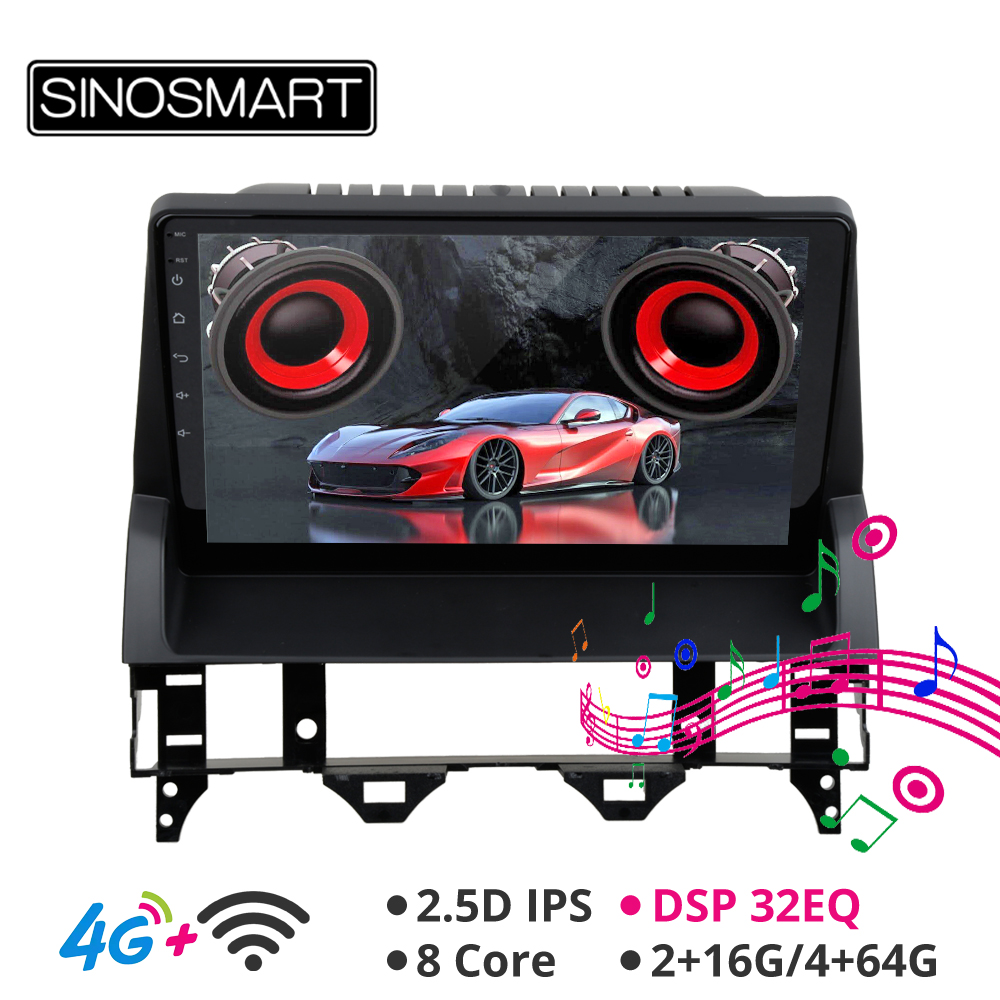 SINOSMART Support BOSE Audio System 8 Core CPU DSP Car GPS Navigation Player for <font><b>Mazda</b></font> <font><b>6</b></font> 2002-2008 2.5D IPS/QLED Screen image