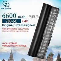Golooloo 7.4v 6600mAh batterie d'ordinateur portable pour asus Eee PC 2G 4G 8G 900 700 701 90-OA001B1000 A22-700 A22-P701 A23-P701 P22-900