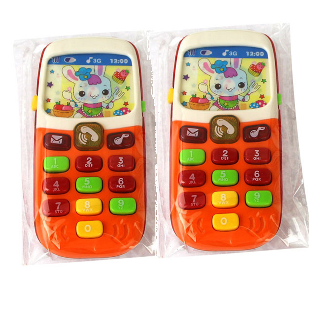 Electronic Toy Phone Kids Mobile Phone Cellphone Educational Learning Toys Baby Telephone Gift
