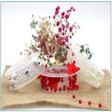 1 м длинное Рождественское украшение невесты головной убор ручной