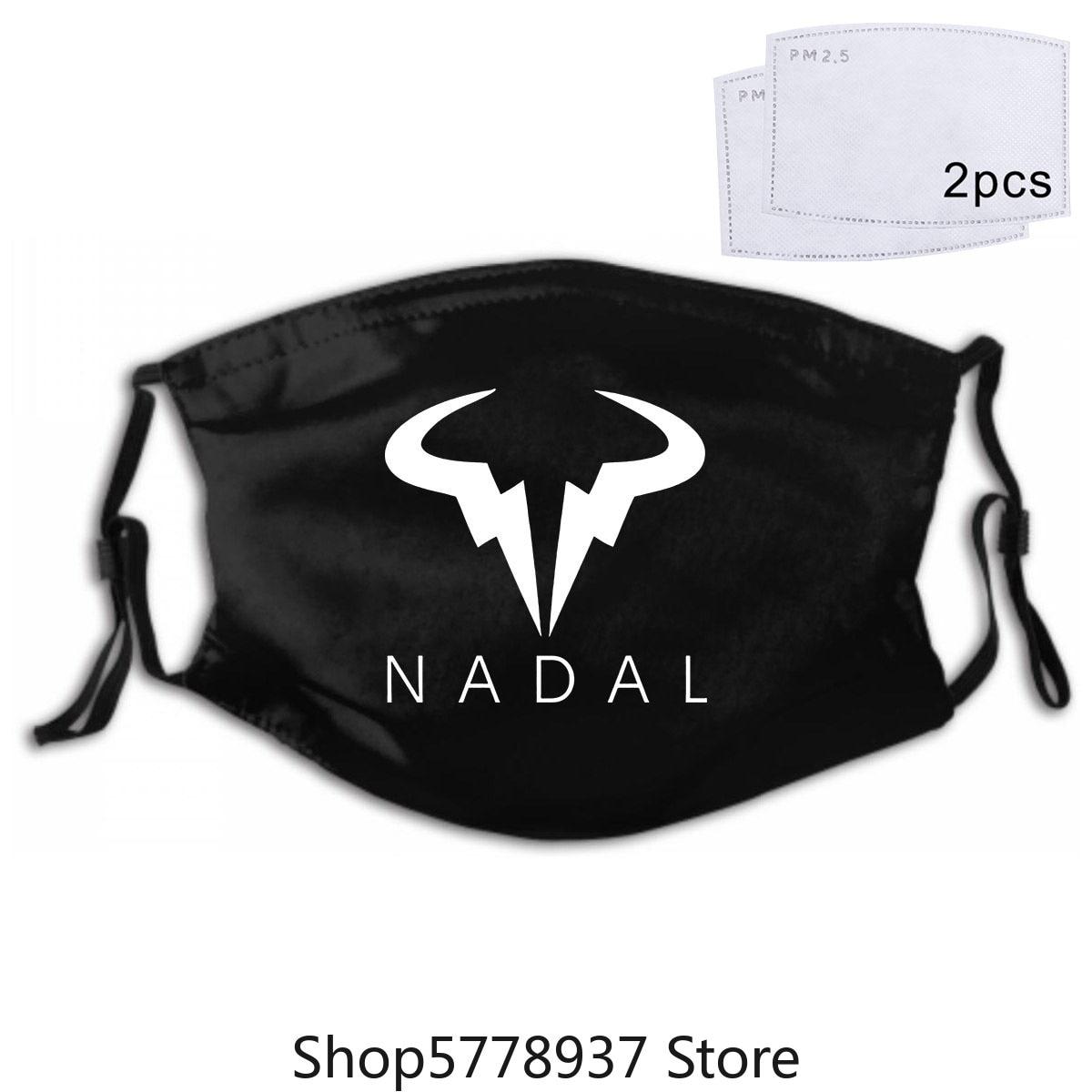 New Rafael Nadal Mask Tennis Wimbledon S 3Xl