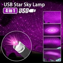 Decorative-Lamp Projector Galaxy-Lamp-Interior Night-Light Starry-Laser Ambient Car-Roof-Star