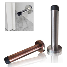 Buffer-Stopper Wall Metal 1PC Skirt Board Doorstop Mounted Projecting Rubber Home-Supplies