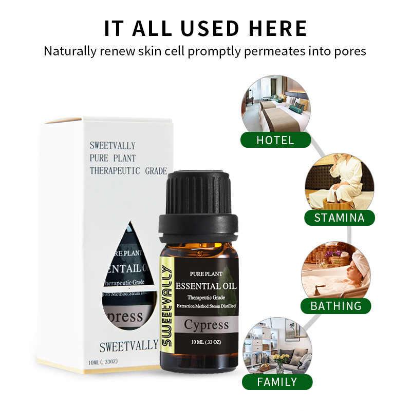 2019 nouveauté huile de parfum végétale naturelle cyprès jasmin vétiver huile essentielle 10ml huile de parfum cadeaux
