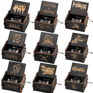 New black Music Box Castle In