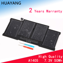 HUAYANG HIGH quality A1405 Battery for apple Macbook Air A1369 2011,13