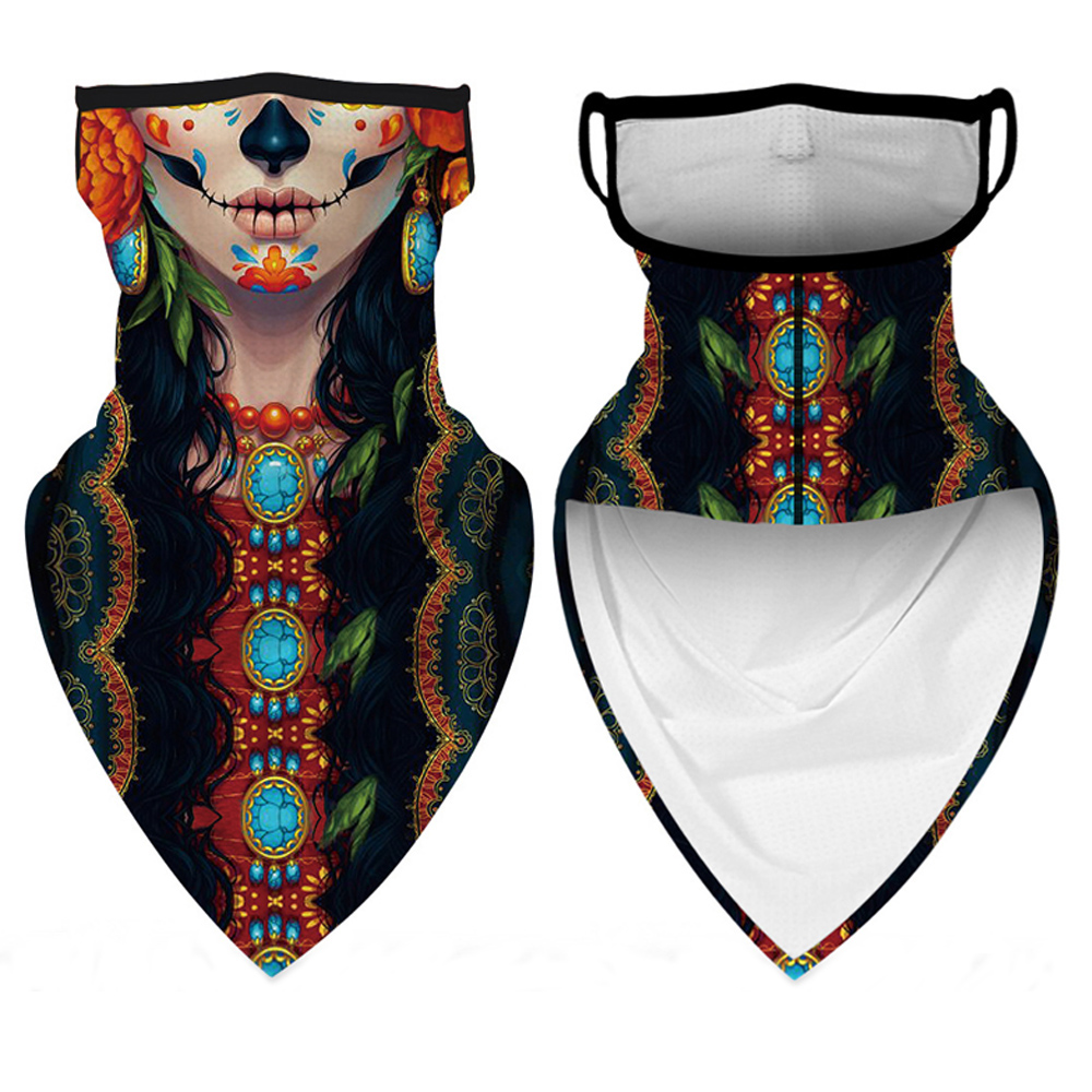 Ourdoor Ice Silk Triangle Scarf Cycling Bandana Hiking Camping Hunting Running Army Bicycle Military Tactical Neck Gaiter