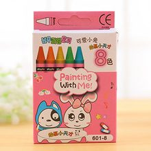 Natural Non-Toxic Children Kids Crayon Oil Pastel Drawing Set School Office Safe Wax Crayon Pen Stationery Student Gift(China)