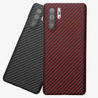 Original Designer Real Carbon Fiber Case For Huawei P30 Pro Ultrathin Full Peotection Aramid Fiber Back Cover For Mate 20 Pro