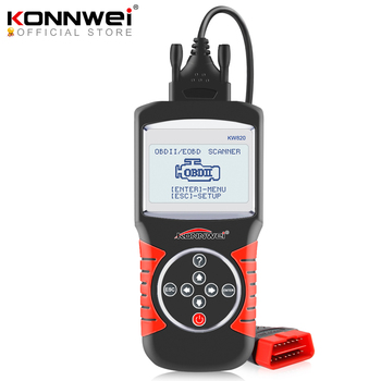 цена на KONNWEI KW820 Automotive Scanner Multi-languages OBDII EOBD Diagnostic Tool Car Errors Code Reader Diagnostic Scanner in Spanish