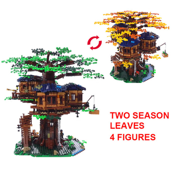 Lepinblocks Tree House 3117pcs Compatible Idea Series 21318 Building Blocks Bricks Educational Toys Birthdays Christmas Gifts фото
