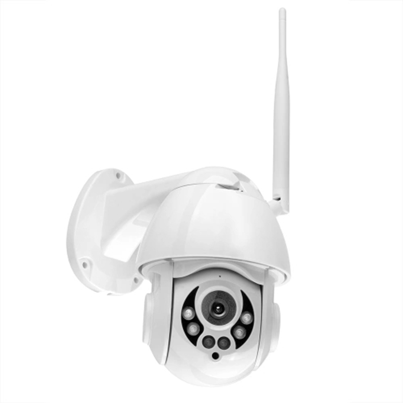 K38D 1080P WiFi PTZ IP Camera Face Detect Auto Tracking 4X Zoom Two-Way Audio Waterproof Outdoor Security Camera