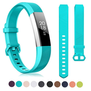 Silicone Watch Band For Fitbit Alta HR Watch Strap Band Correa Adjustable Fitness Tracker Replacement Bracelet 14 Colors high quality soft silicone secure adjustable band for fitbit alta hr band wristband strap bracelet watch replacement accessories