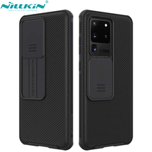 NILLKIN for Samsung Galaxy S20 5G/S20 Plus /S20 Ultra 5G A51 A71 Case,Camera Protection Slide Protect Cover Lens Protection Case