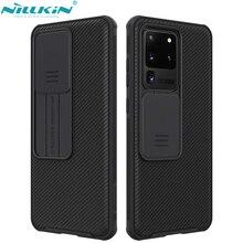 Per Samsung Galaxy S20/S20 Plus /S20 Ultra A51 A71 Cassa Del Telefono, NILLKIN Protezione Della Fotocamera Scivolo Proteggere Obiettivo Della Copertura di Caso di Protezione