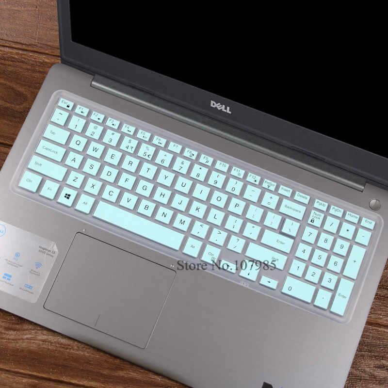 """غطاء حماية لوحة مفاتيح الكمبيوتر المحمول من السيليكون لأجهزة الكمبيوتر المحمول 15.6 """"Dell Latitude 3500 3550 3560 3570 3580 3590"""