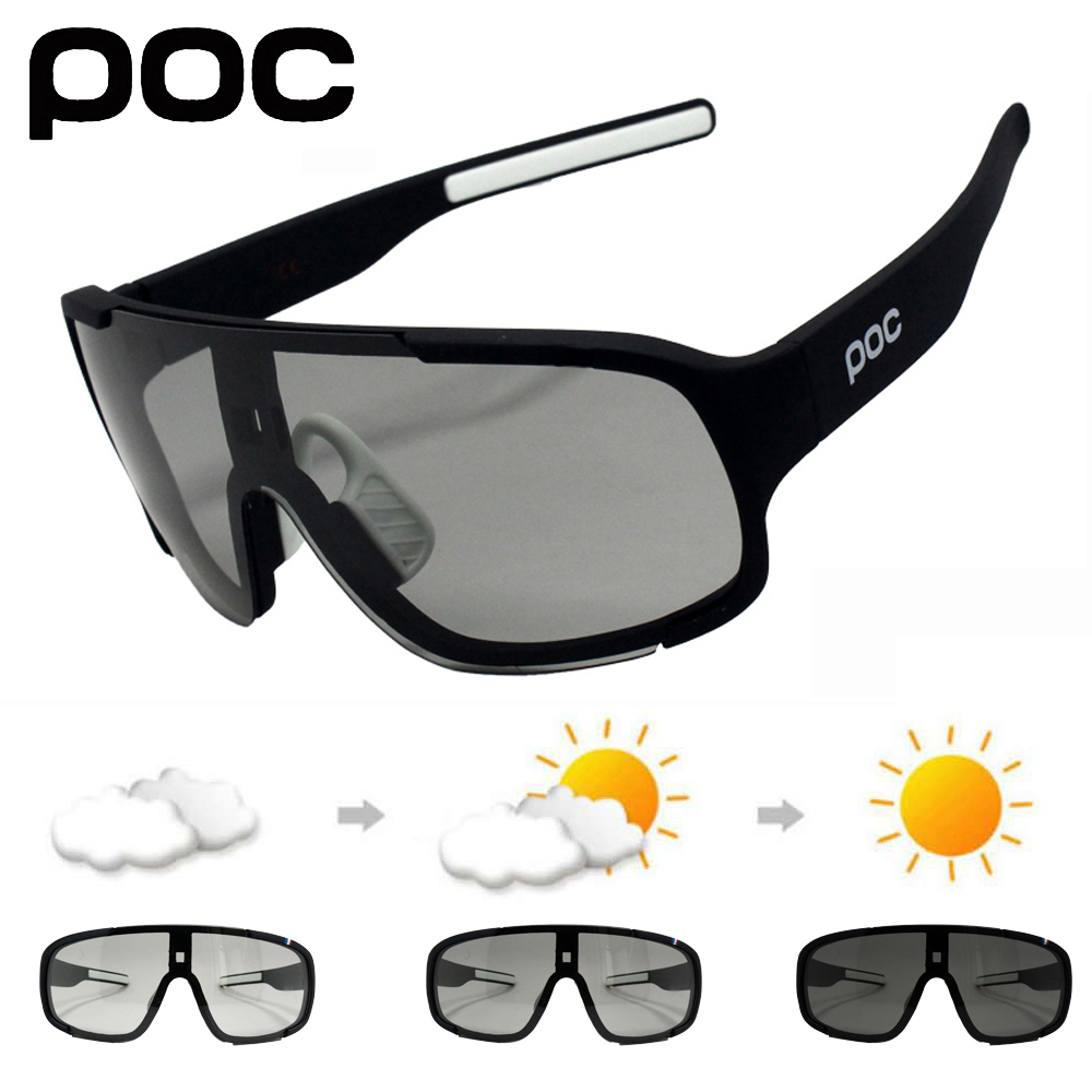 Cycling Sunglasses Bike UV400 Polarized Sports Photochromic Outdoor-Road 5-Lens Men Women title=