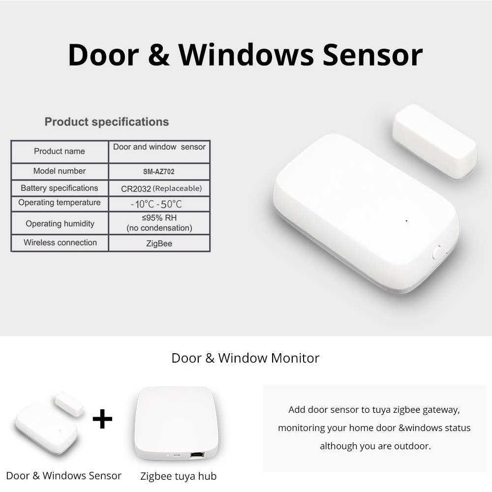 UseeLink automatyki inteligentnego domu sceny Alarm bezpieczeństwa zestaw Zigbee Hub czujnik PIR czujnik drzwi czujnik temperatury i wilgotności Tuya