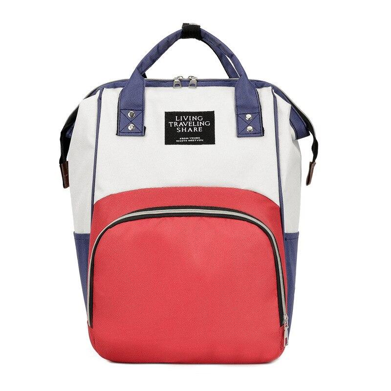 Waterproof Diaper Bag Backpack Multi-function Mommy Bag Large Capacity Women Handbag Mommy Travel Baby Care Stroller Bags Nappy
